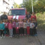 Пожарна в детската градина